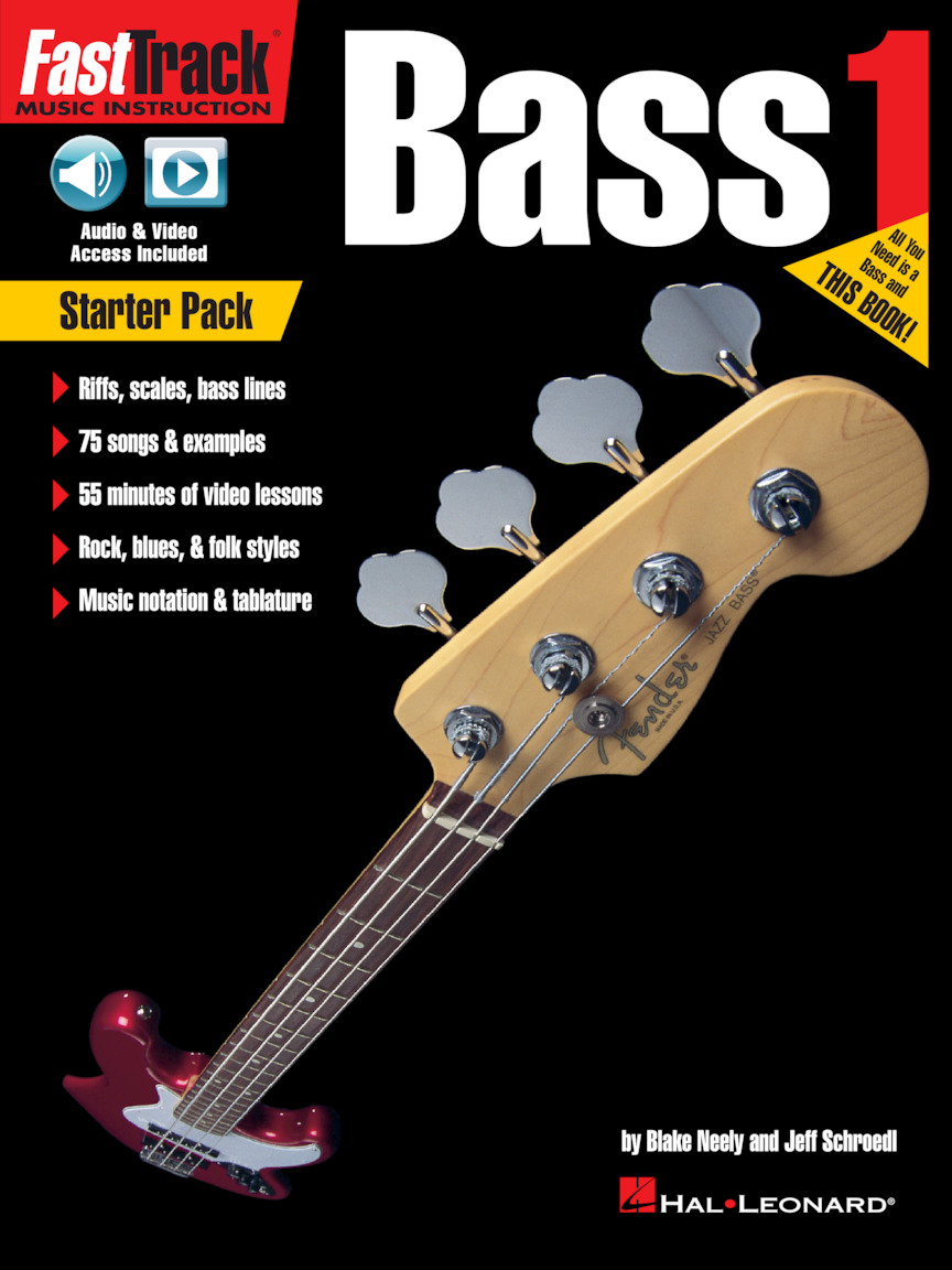 Product Cover for FastTrack Bass Method – Starter Pack