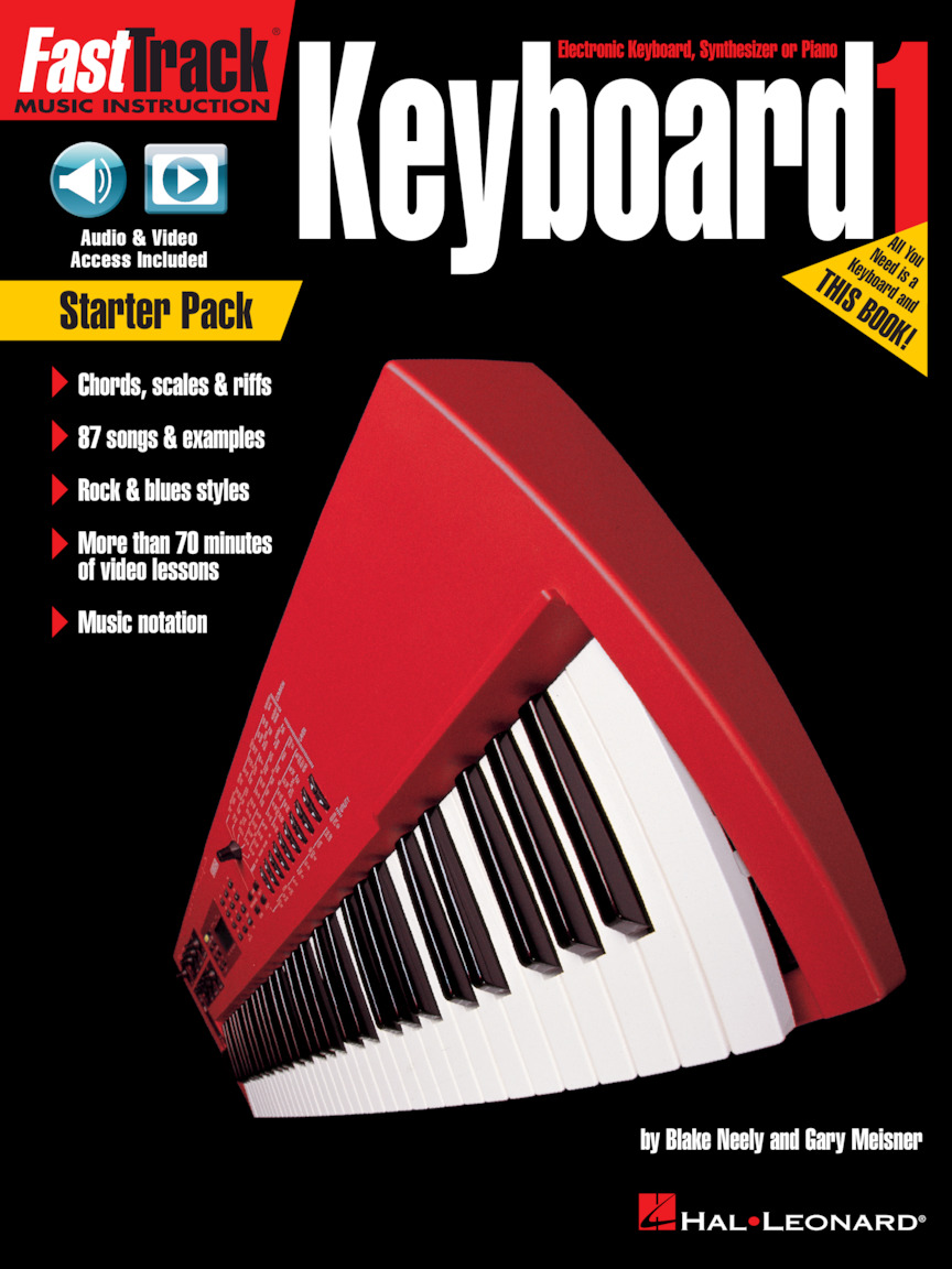 Product Cover for FastTrack Keyboard – Book 1 Starter Pack