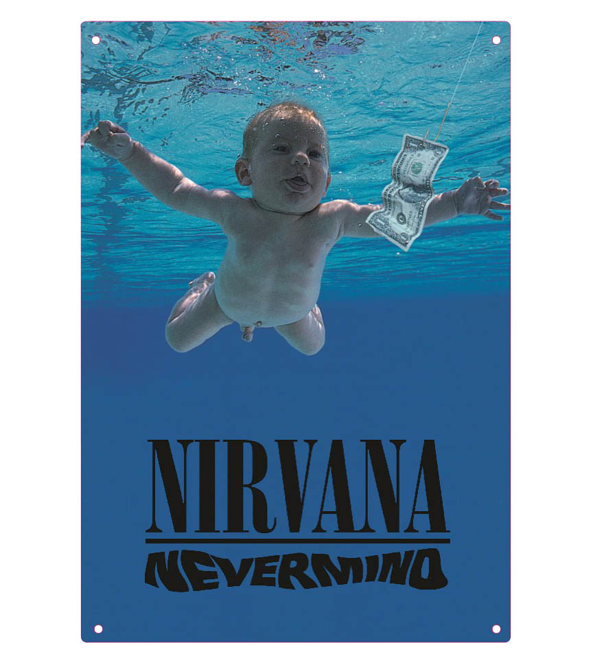 Product Cover for Nirvana – Nevermind – Tin Sign