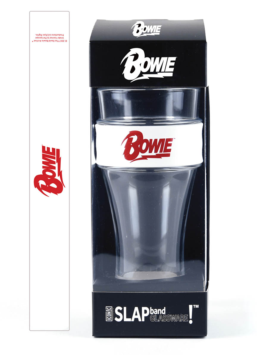 Product Cover for David Bowie Slap Band Single Pint Glassware