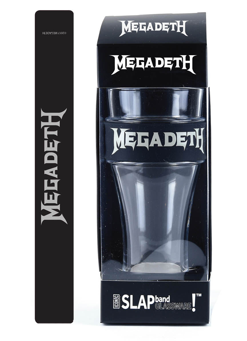 Product Cover for Megadeth Slap Band Single Pint Glassware