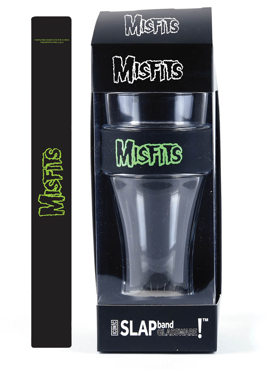 Product Cover for Misfits Slap Band Single Pint Glassware