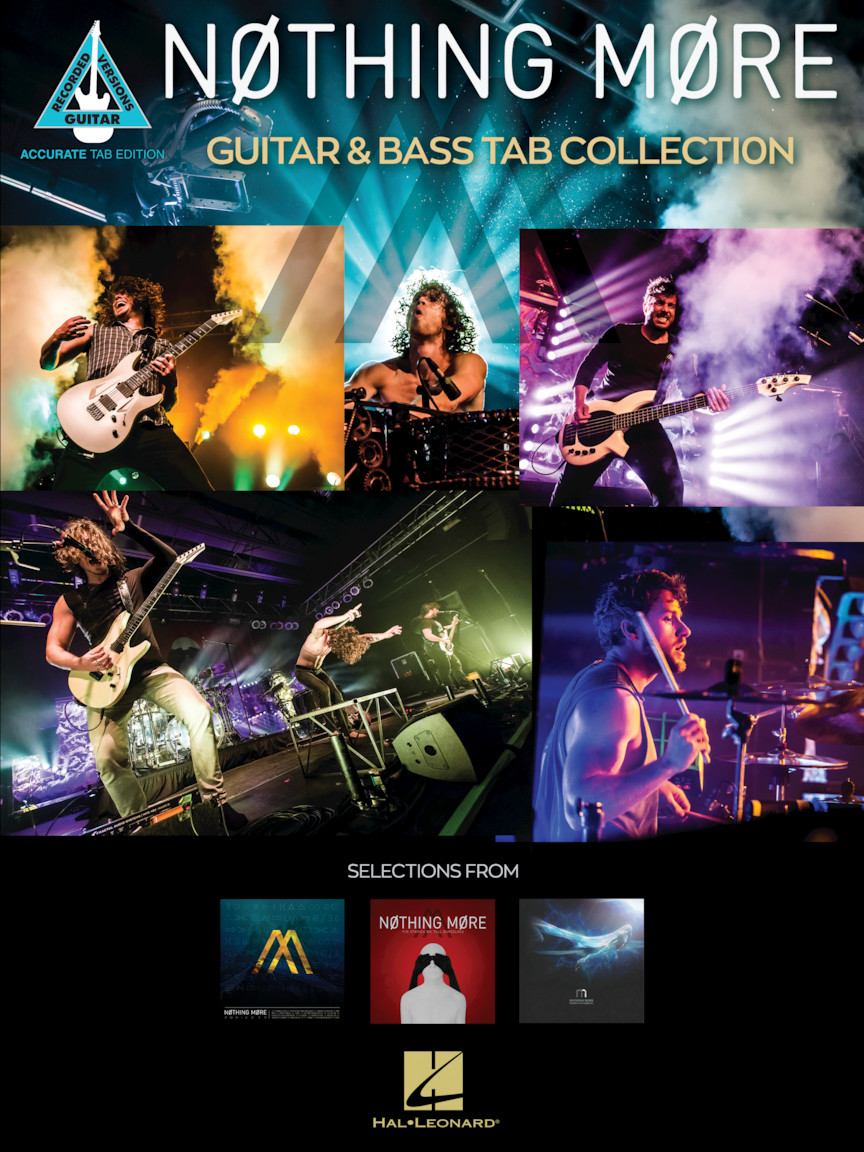 Product Cover for Nothing More – Guitar & Bass Tab Collection