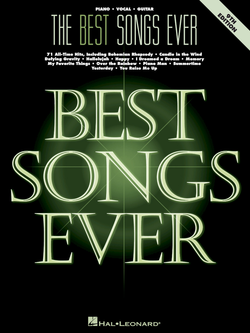 Product Cover for The Best Songs Ever – 9th Edition