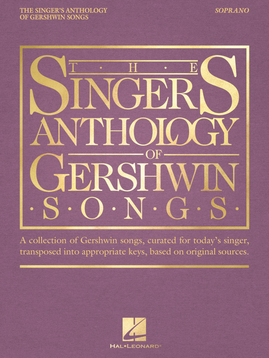 Product Cover for The Singer's Anthology of Gershwin Songs – Soprano