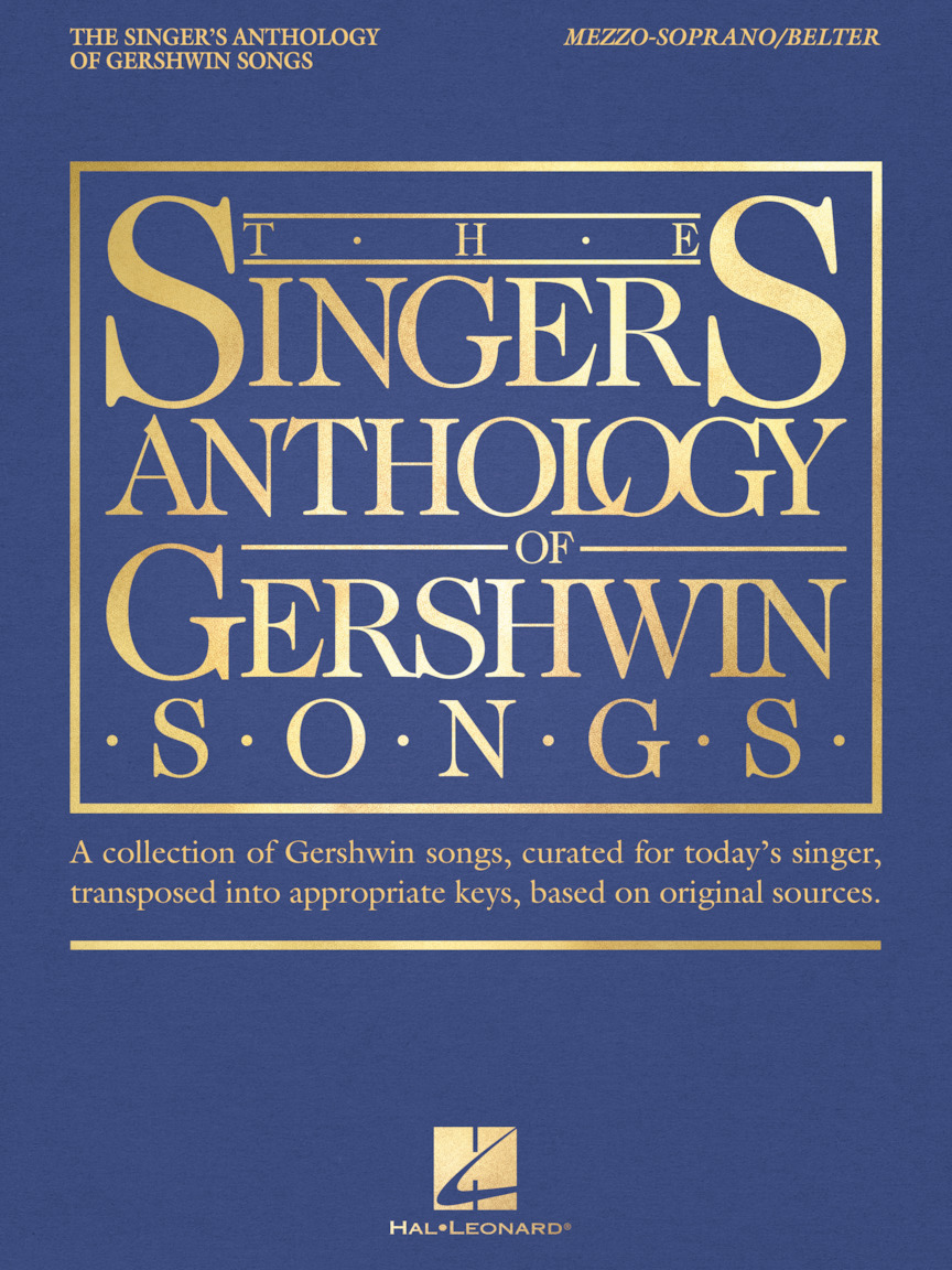 Product Cover for The Singer's Anthology of Gershwin Songs – Mezzo-Soprano/Belter