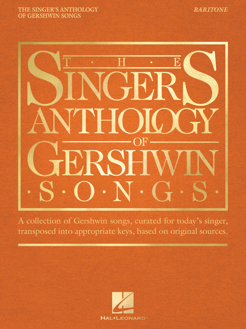 Product Cover for The Singer's Anthology of Gershwin Songs – Baritone