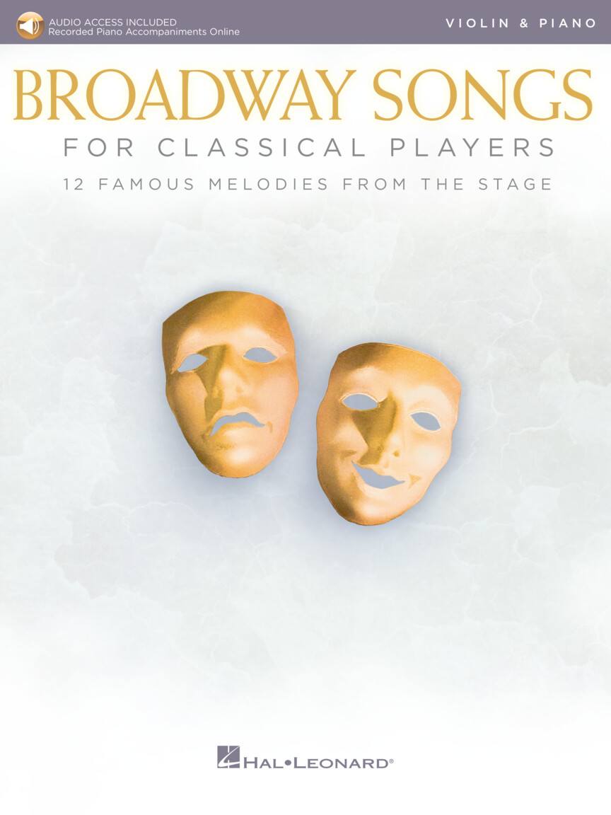Product Cover for Broadway Songs for Classical Players – Violin and Piano