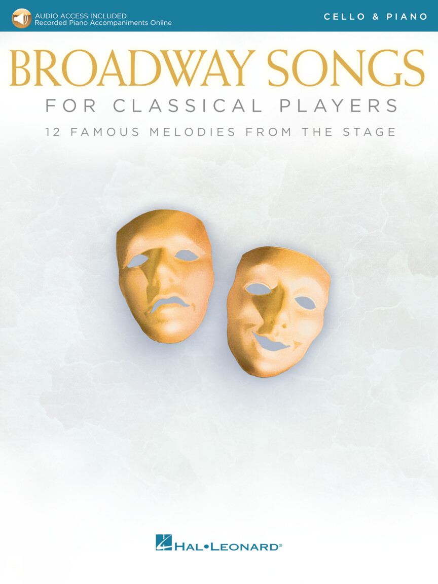 Product Cover for Broadway Songs for Classical Players – Cello and Piano