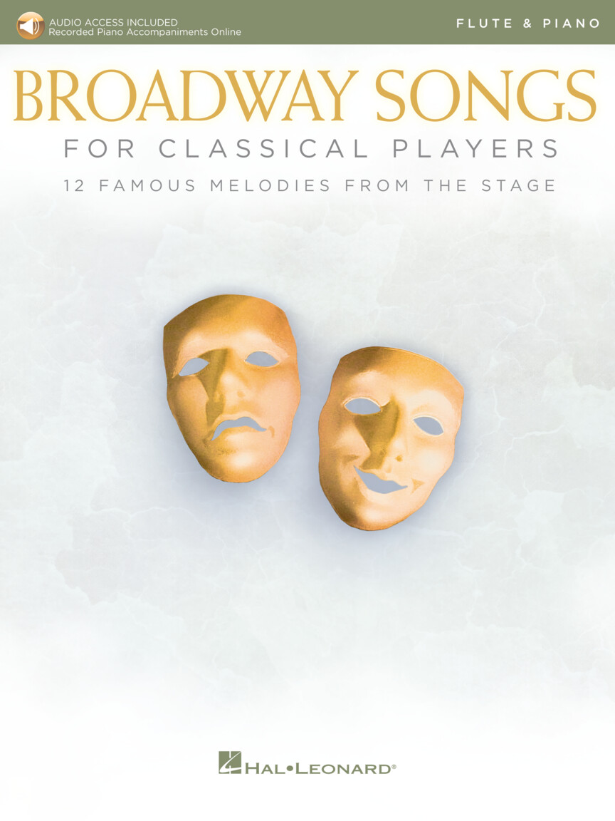 Broadway Songs for Classical Players – Flute and Piano