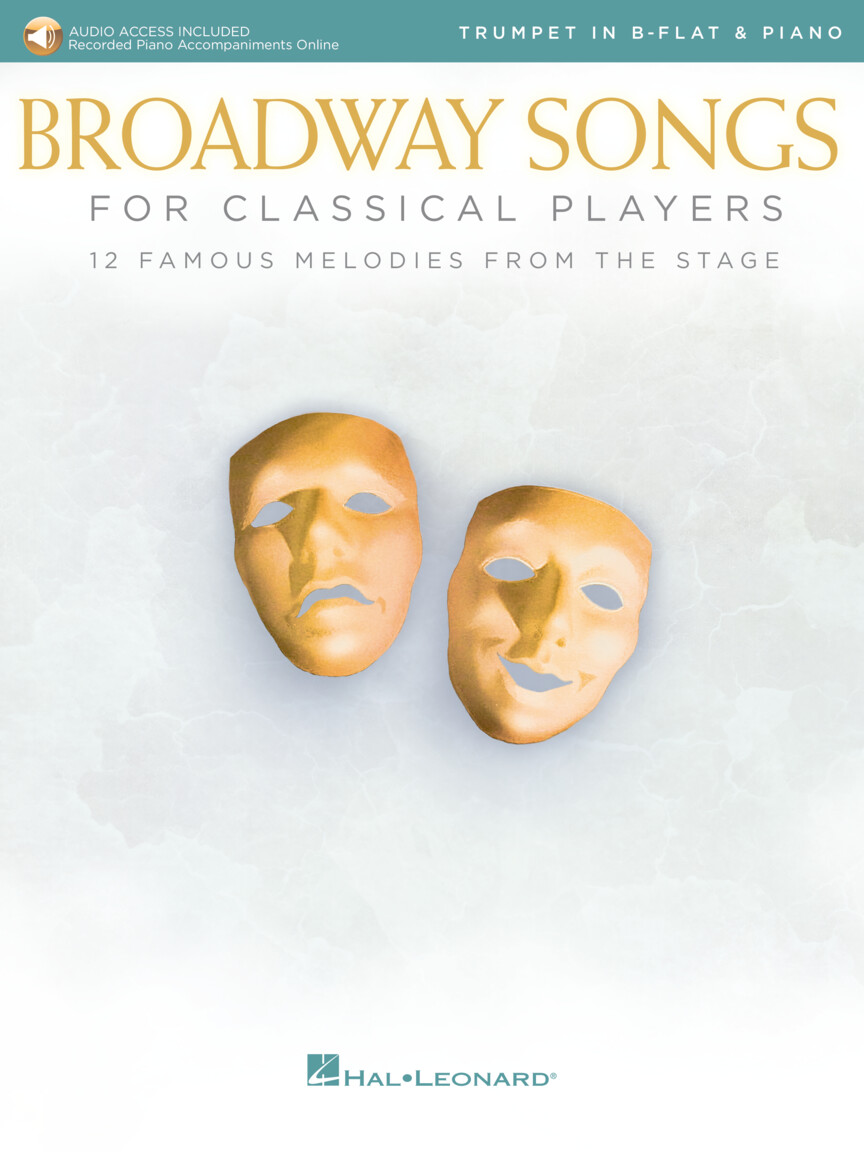 Product Cover for Broadway Songs for Classical Players – Trumpet and Piano