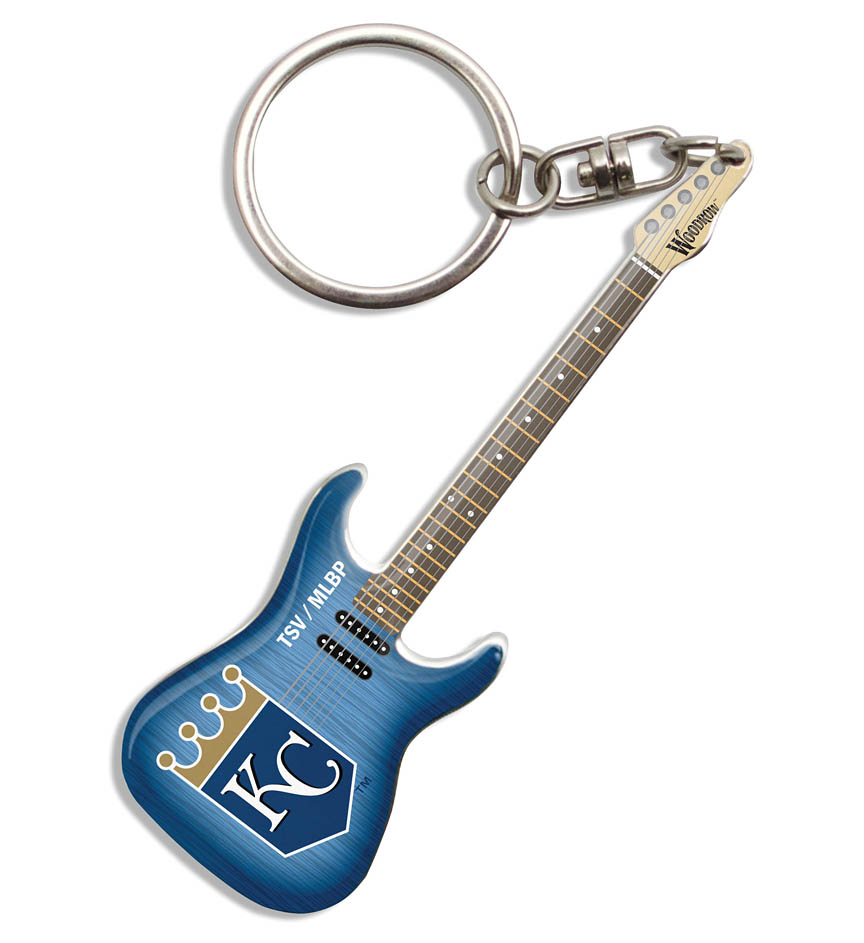 Product Cover for Kansas City Royals Electric Guitar Keychain