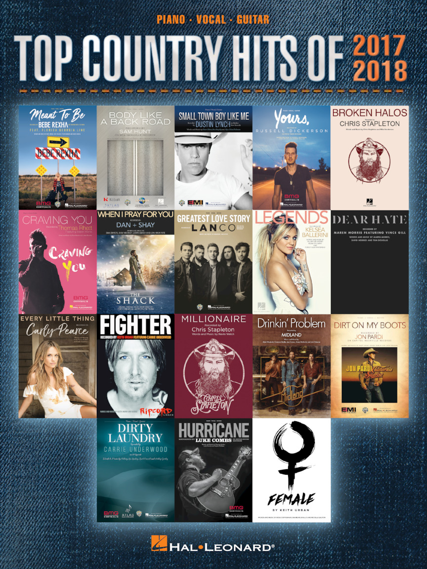 Product Cover for Top Country Hits of 2017-2018