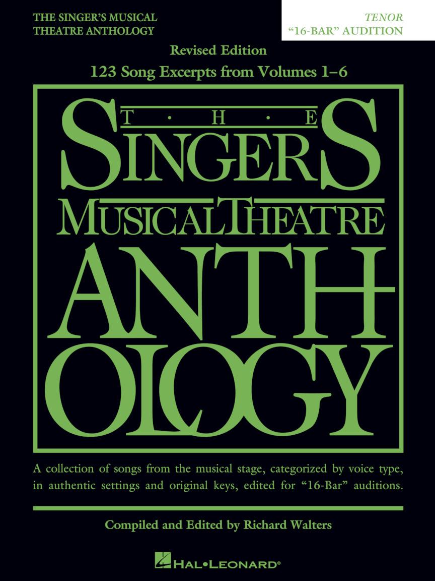 Product Cover for The Singer's Musical Theatre Anthology: Tenor - 16-bar Audition - Revised (Replaces 00230041)