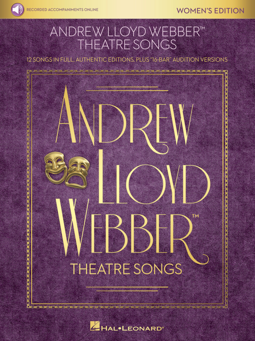 Product Cover for Andrew Lloyd Webber Theatre Songs – Women's Edition