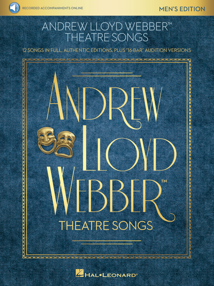 Product Cover for Andrew Lloyd Webber Theatre Songs – Men's Edition
