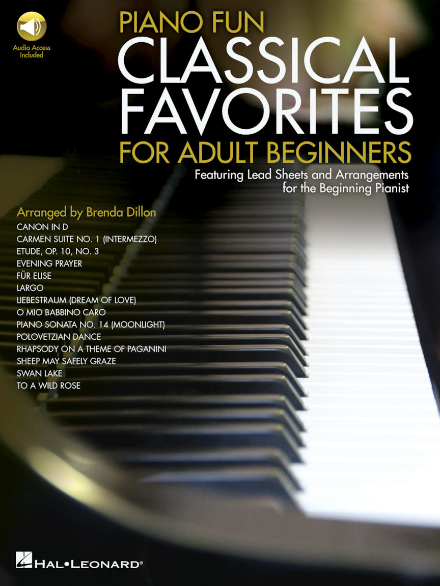 Product Cover for Piano Fun – Classical Favorites for Adult Beginners
