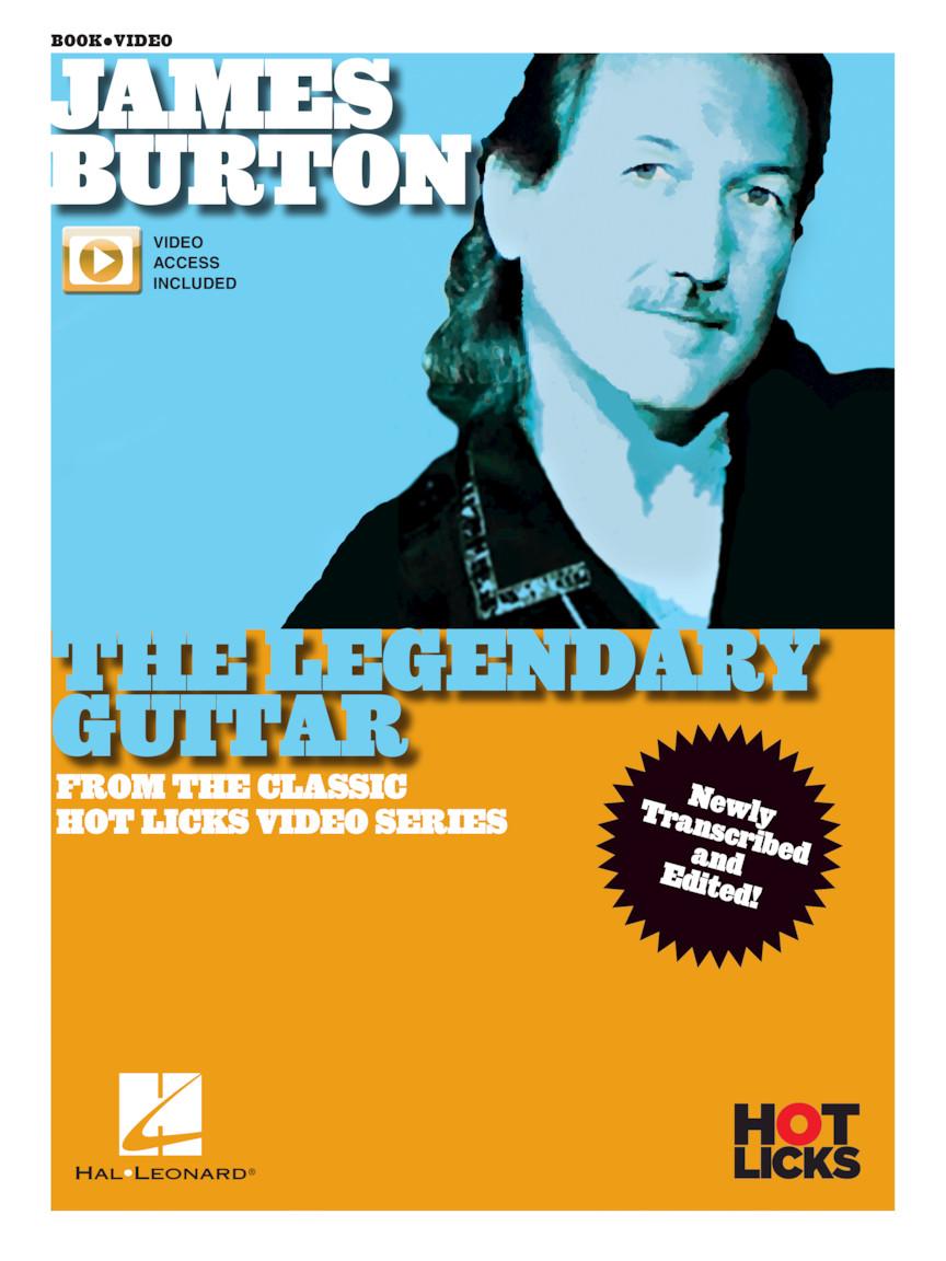 Product Cover for James Burton – The Legendary Guitar