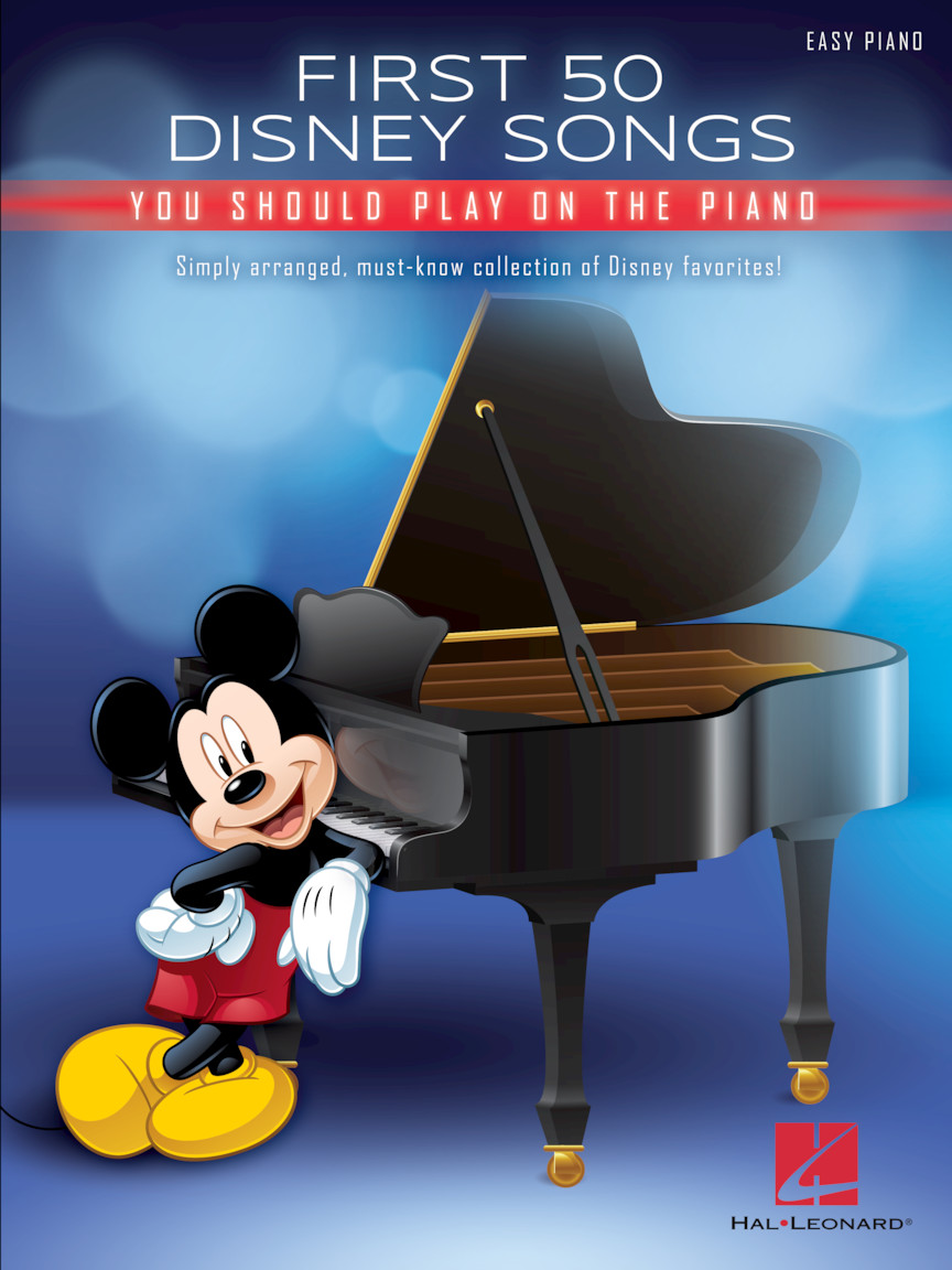 Product Cover for First 50 Disney Songs You Should Play on the Piano