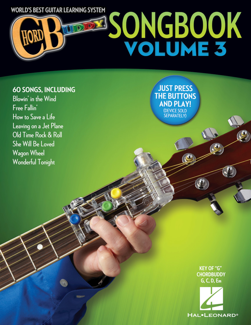 Product Cover for ChordBuddy Songbook – Volume 3