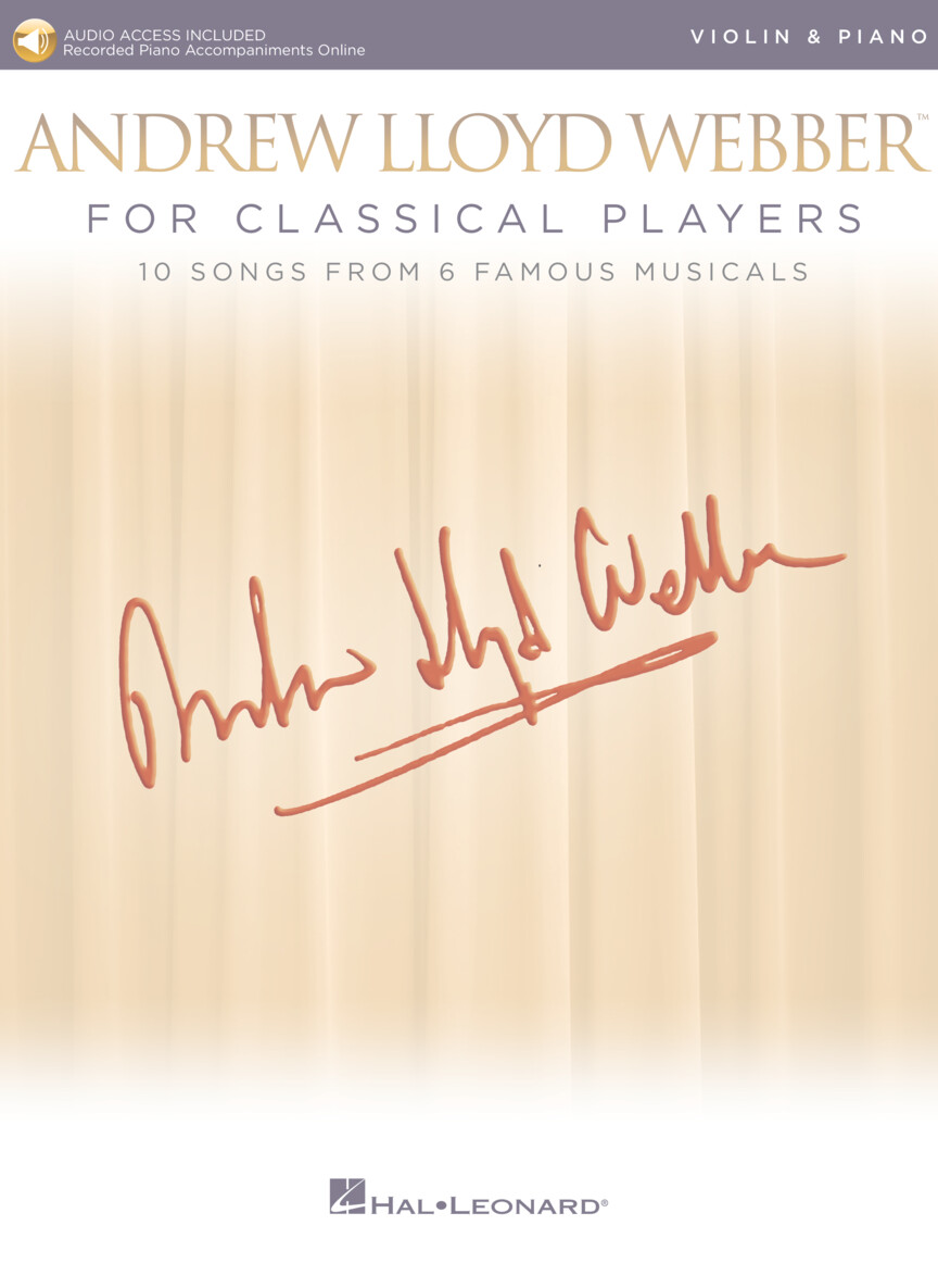 Product Cover for Andrew Lloyd Webber for Classical Players – Violin and Piano