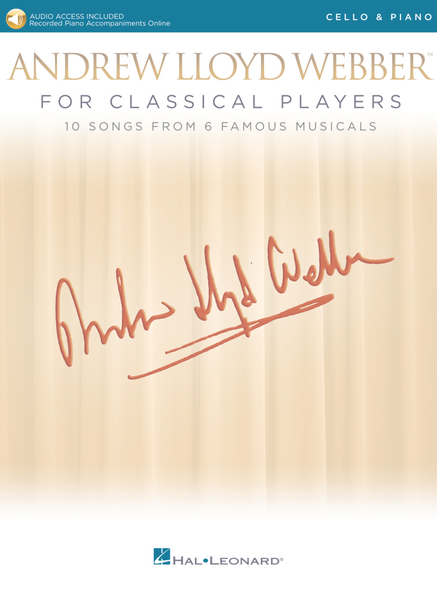 Product Cover for Andrew Lloyd Webber for Classical Players – Cello and Piano