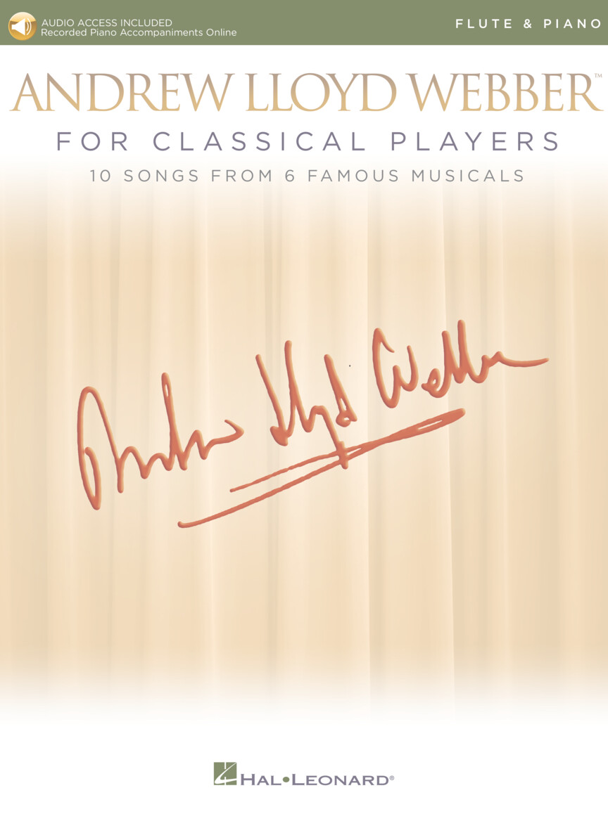 Product Cover for Andrew Lloyd Webber for Classical Players – Flute and Piano