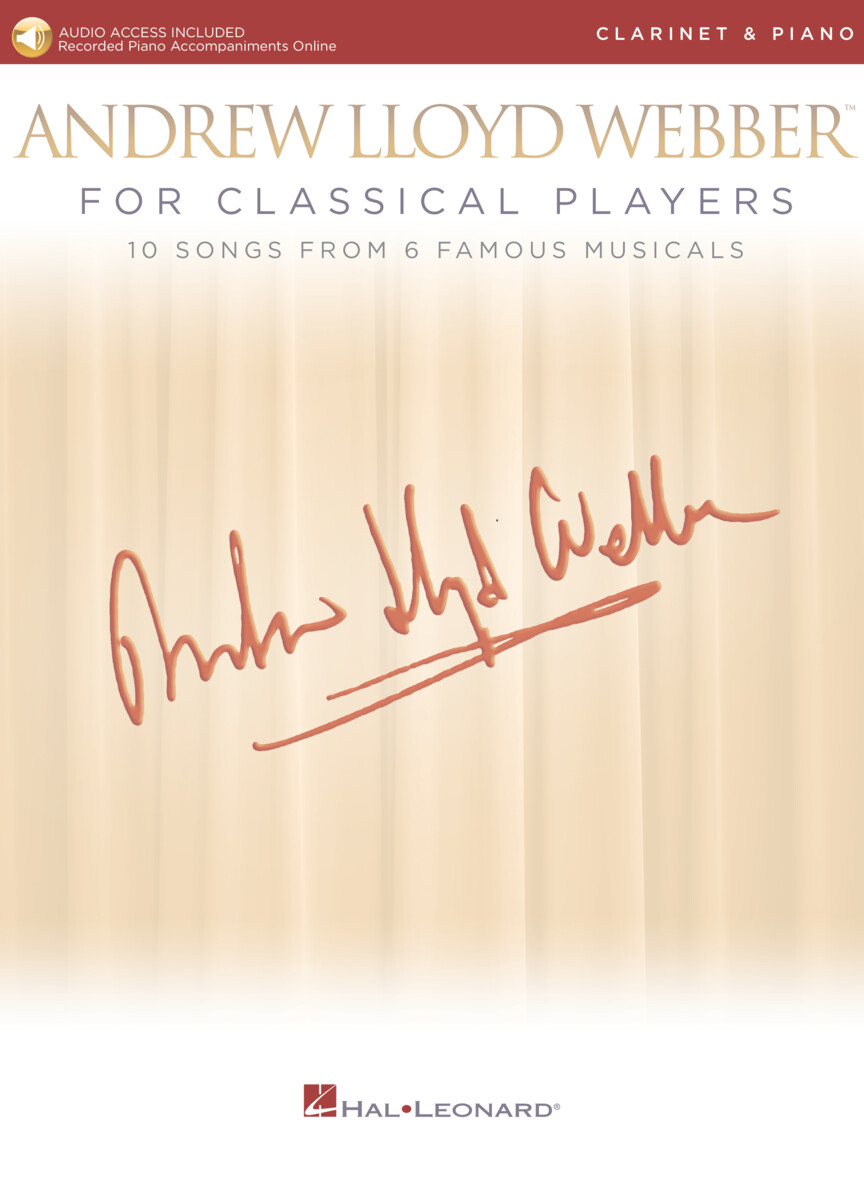 Product Cover for Andrew Lloyd Webber for Classical Players – Clarinet and Piano