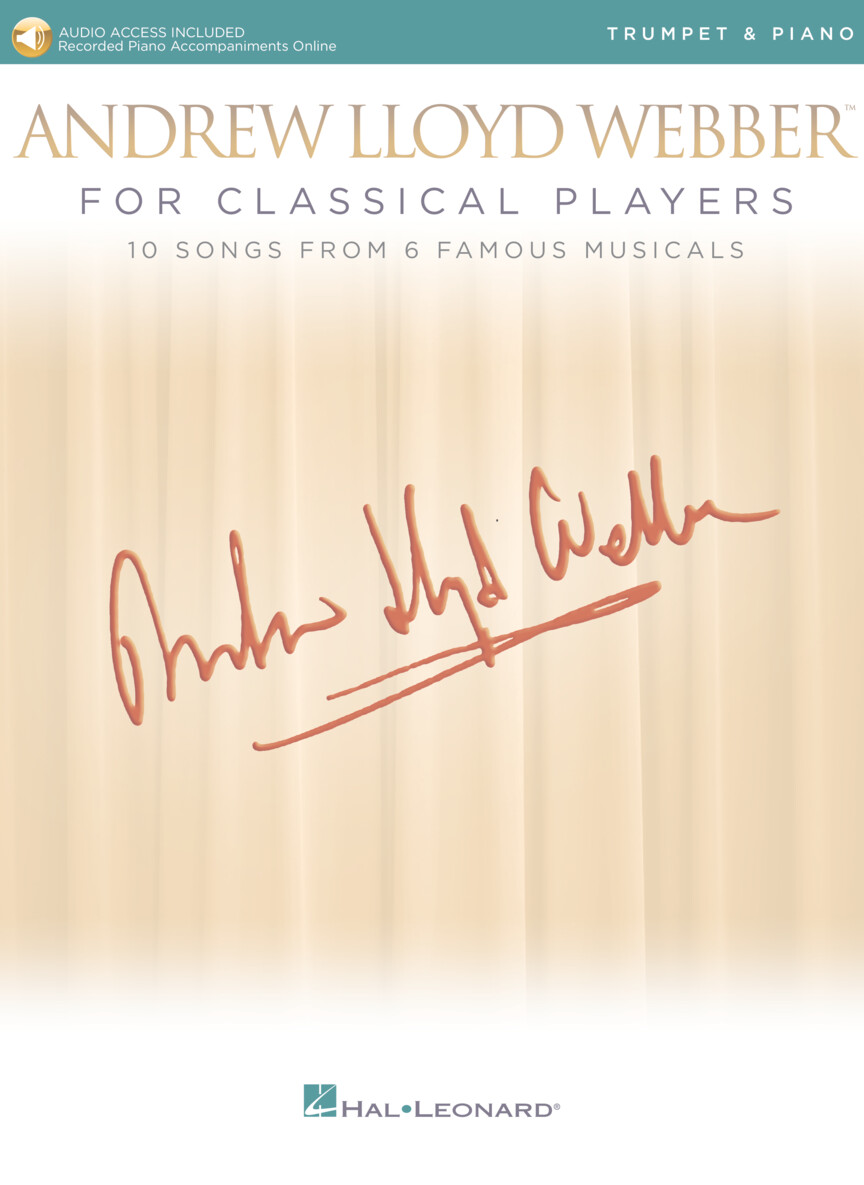 Product Cover for Andrew Lloyd Webber for Classical Players – Trumpet and Piano