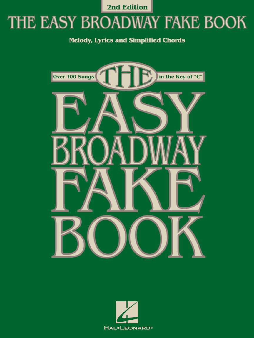 Product Cover for The Easy Broadway Fake Book – 2nd Edition