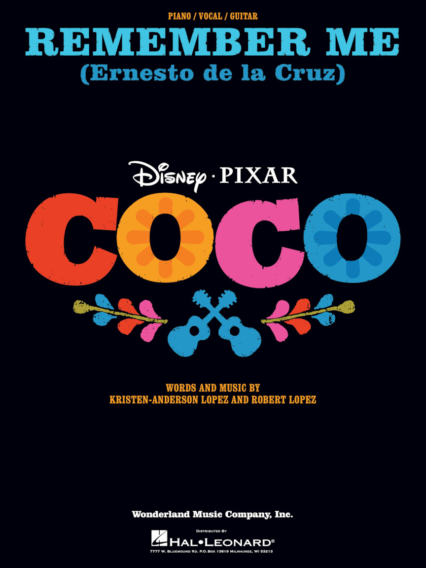 Product Cover for Remember Me (Ernesto de la Cruz) (from Coco)