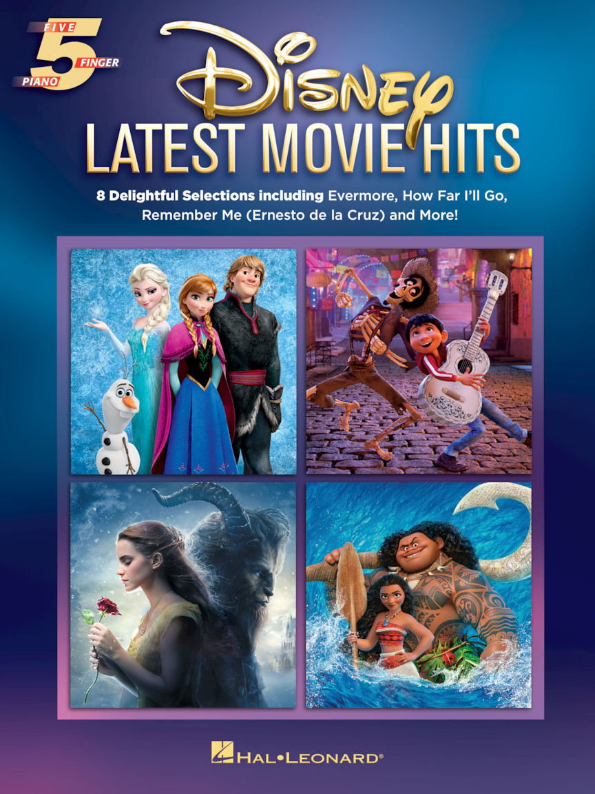 Product Cover for Disney Latest Movie Hits