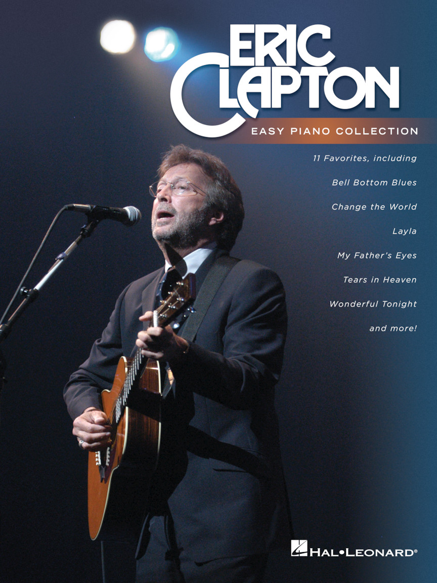 Product Cover for Eric Clapton – Easy Piano Collection