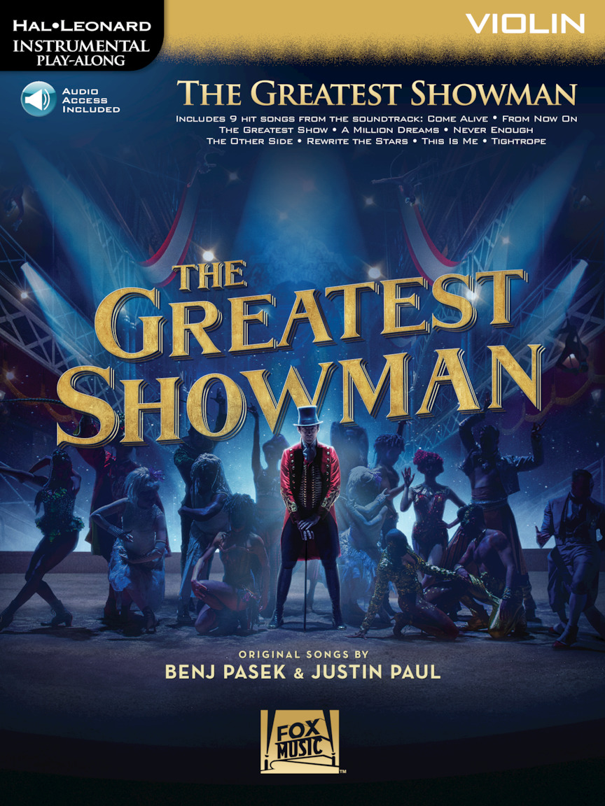 The Greatest Showman - Instrumental Play-Along Series for