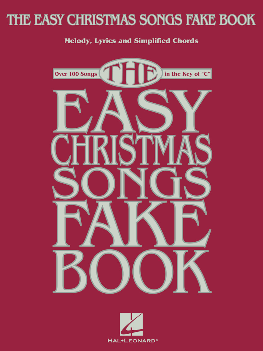 Product Cover for The Easy Christmas Songs Fake Book