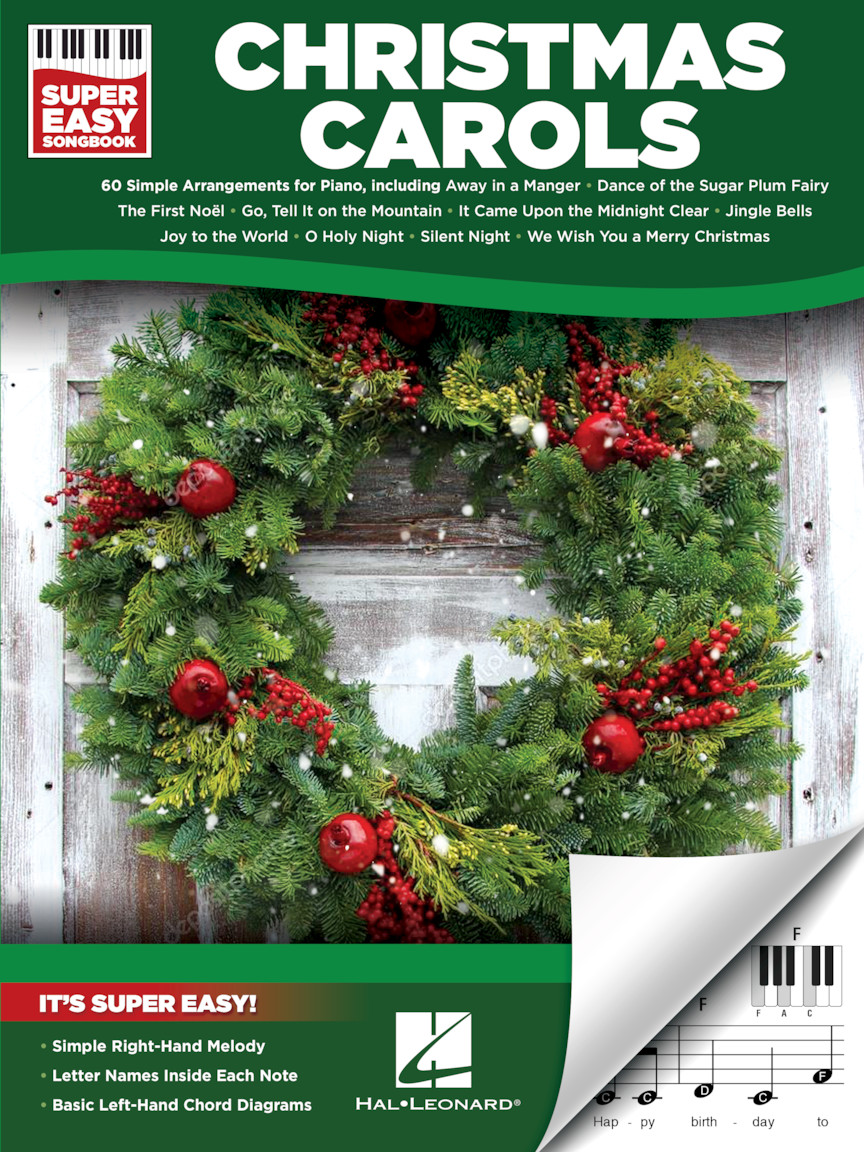 Product Cover for Christmas Carols – Super Easy Songbook