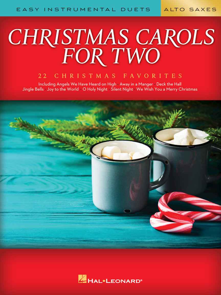 Product Cover for Christmas Carols for Two Alto Saxes