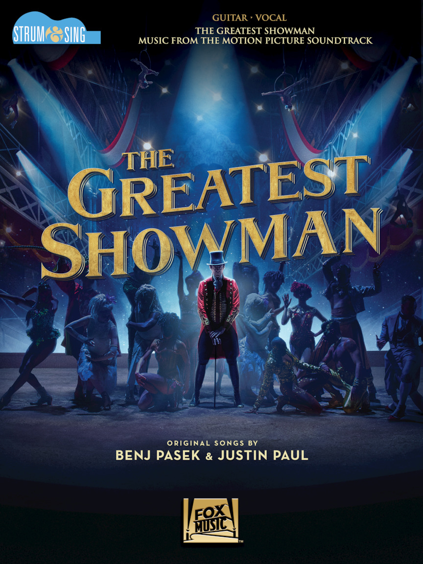 Product Cover for The Greatest Showman - Strum & Sing Guitar