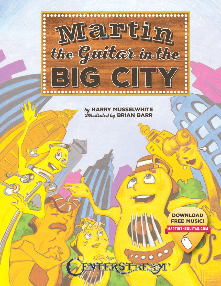 Martin the Guitar  – In the Big City