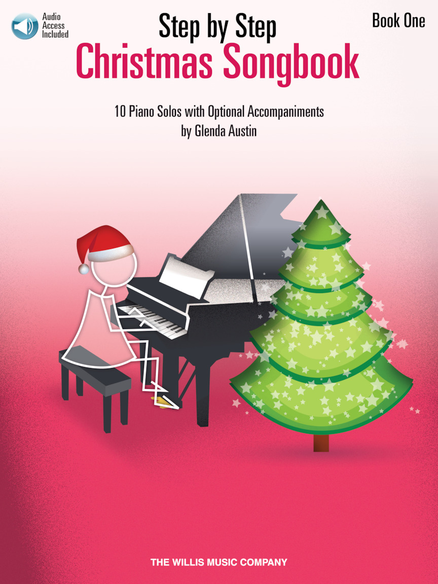 Product Cover for Step by Step Christmas Songbook – Book 1