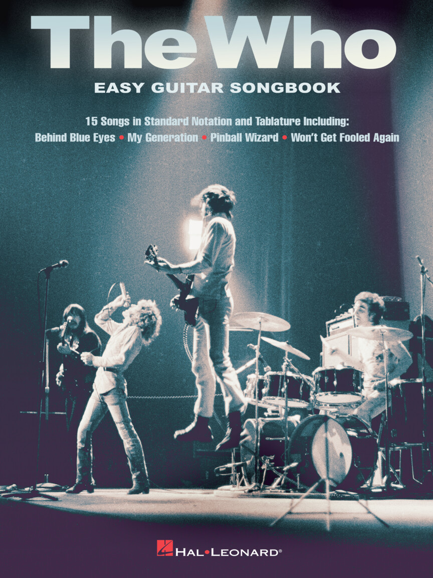 Product Cover for The Who – Easy Guitar Songbook