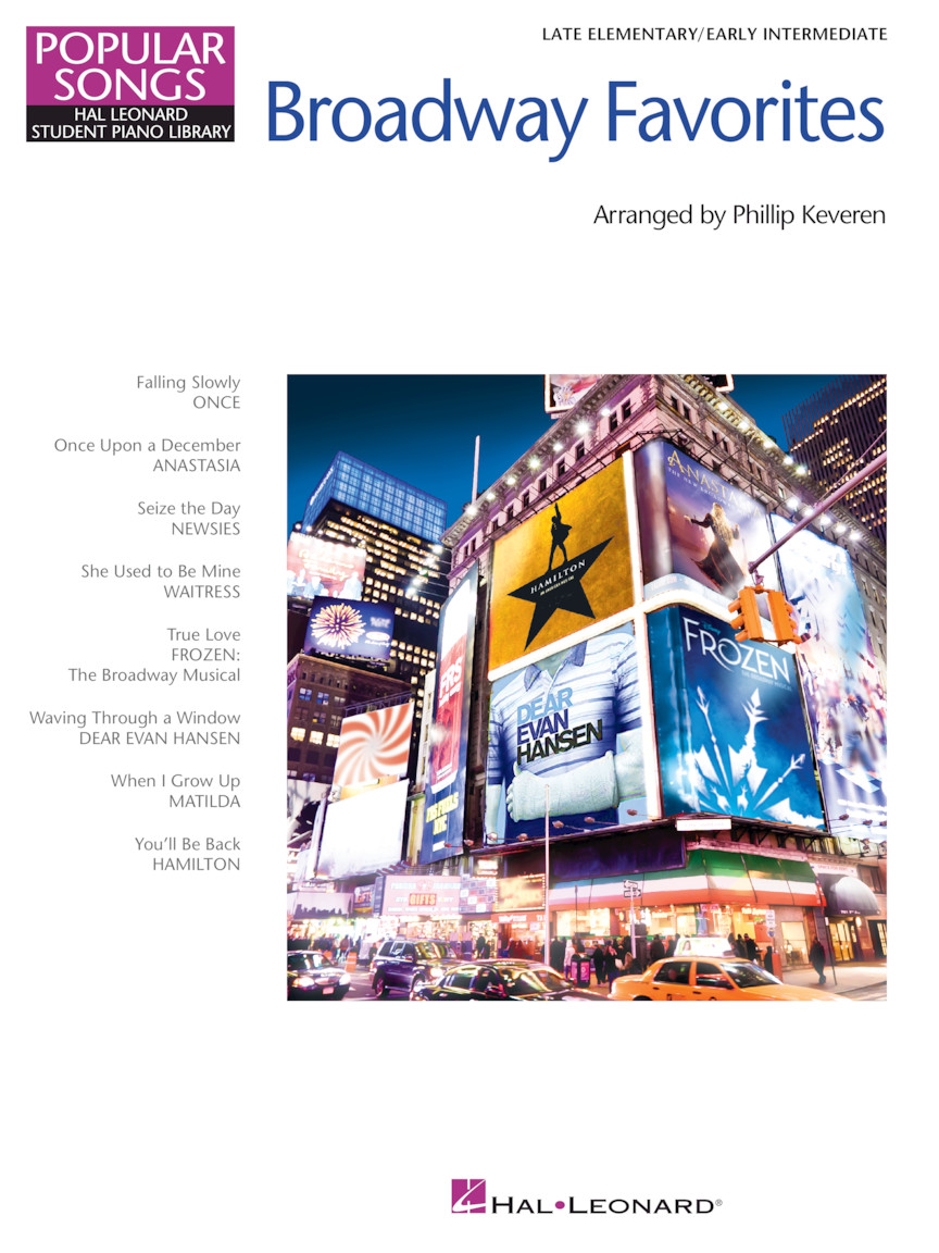 Product Cover for Broadway Favorites – Popular Songs Series