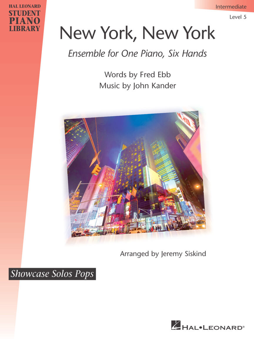 Product Cover for New York, New York – Ensemble for One Piano, Six Hands