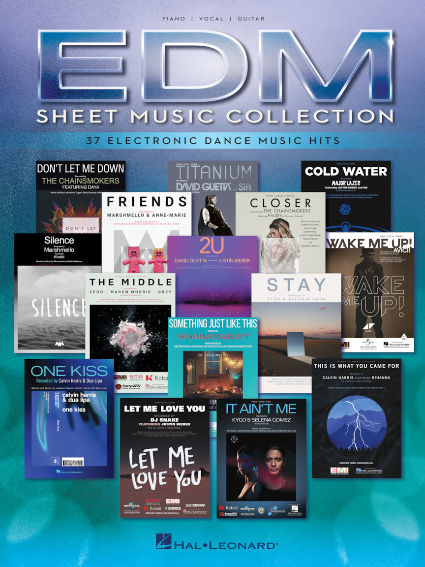 Product Cover for EDM Sheet Music Collection
