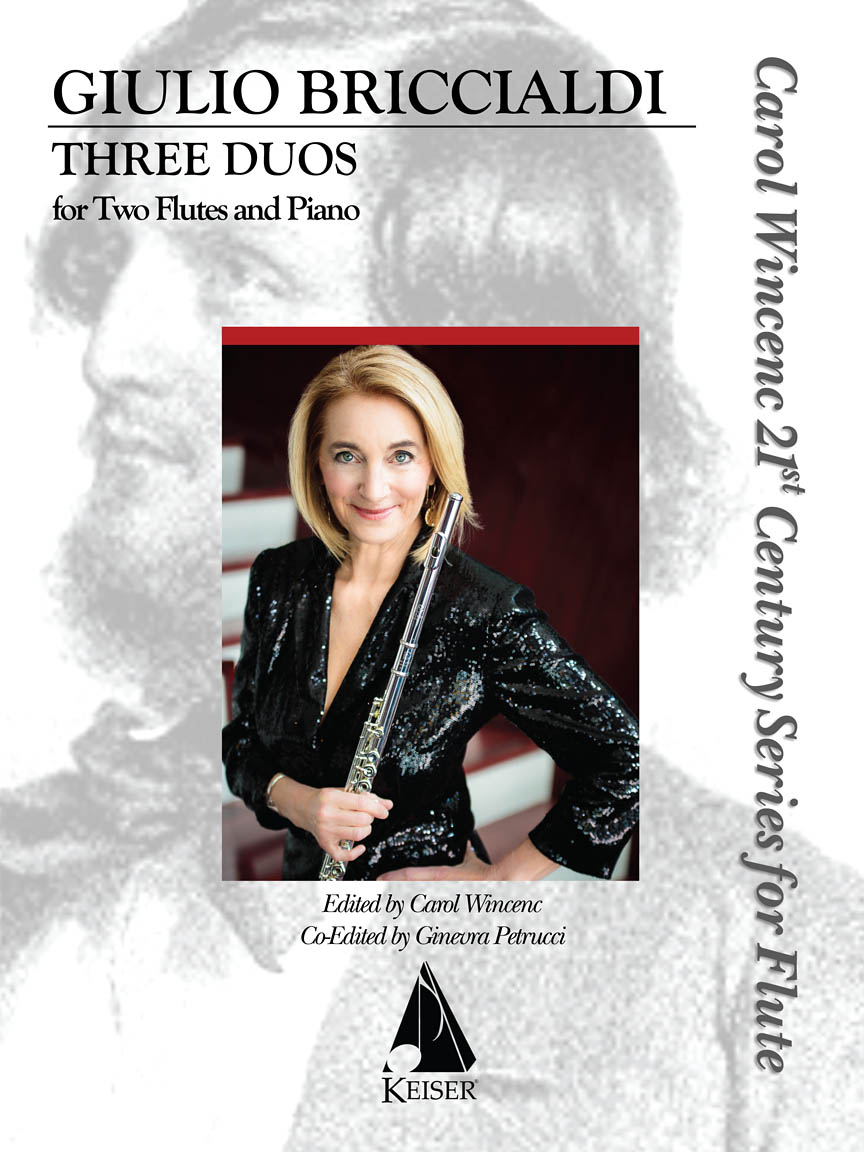 Product Cover for Three Duos for Two Flutes and Piano