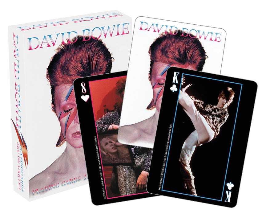 Product Cover for David Bowie Playing Cards
