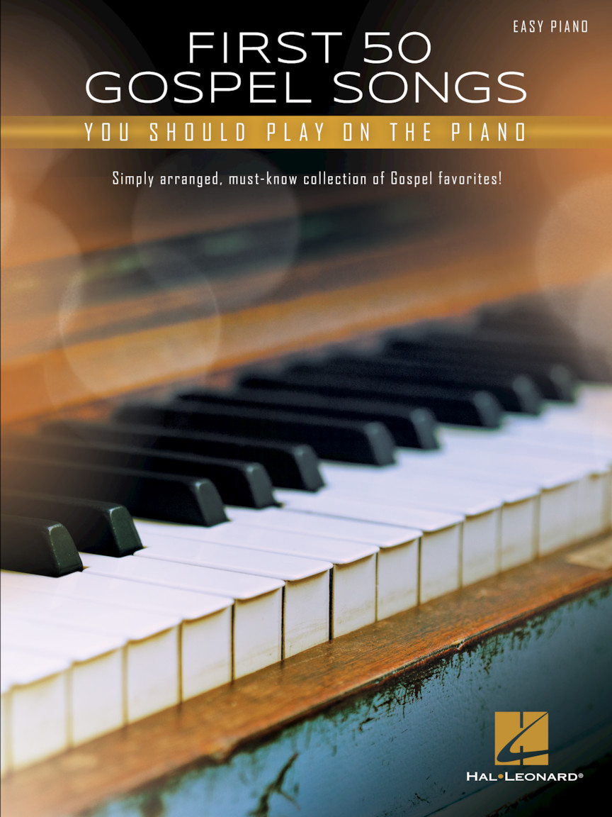 Product Cover for First 50 Gospel Songs You Should Play on Piano