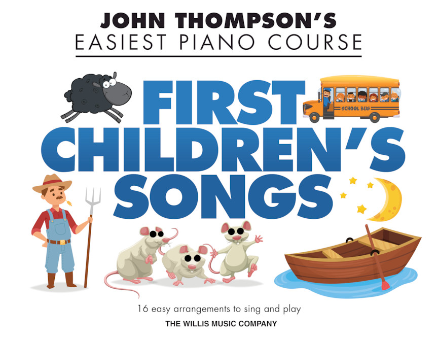 Product Cover for First Children's Songs