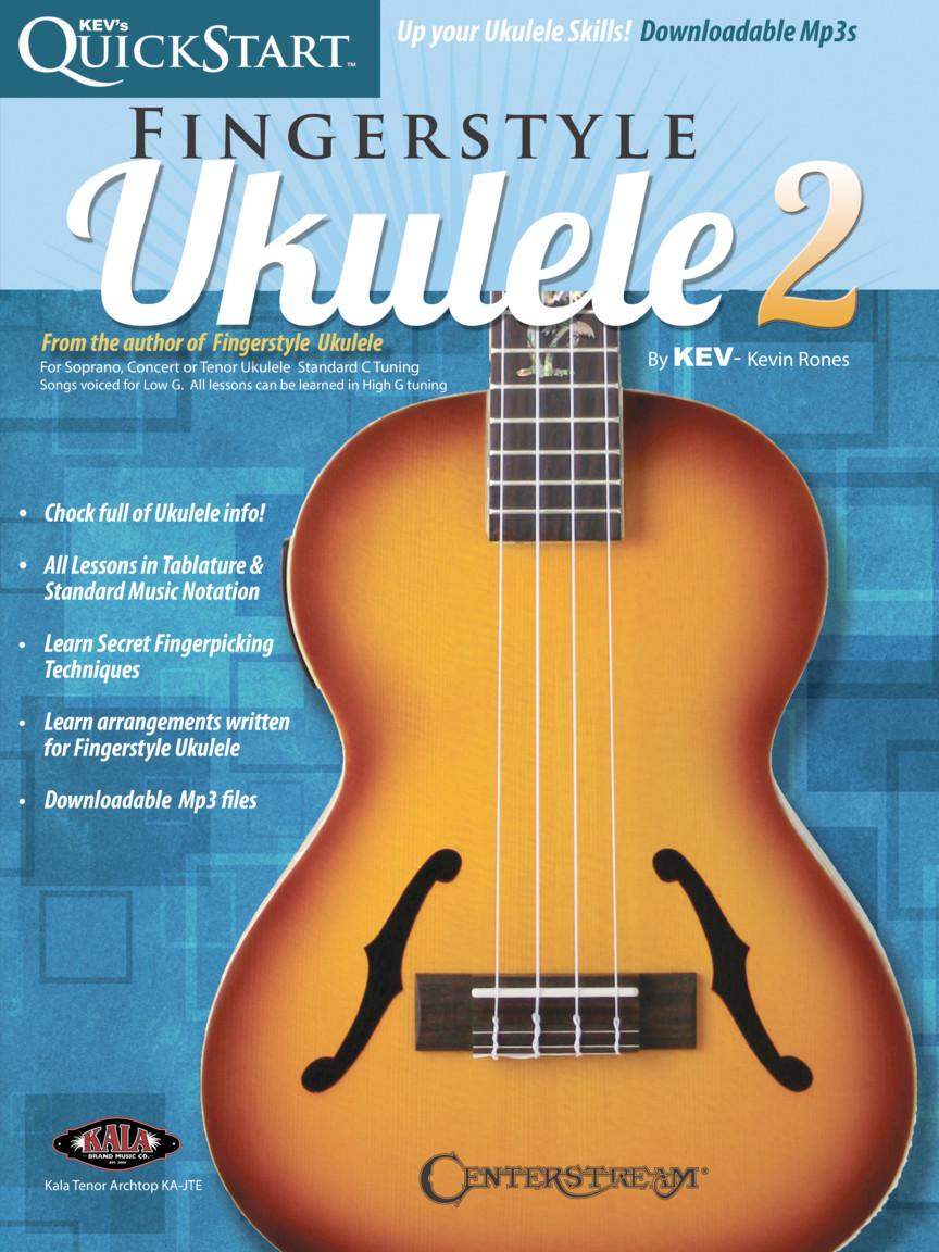 Product Cover for Kev's QuickStart for Fingerstyle Ukulele – Volume 2
