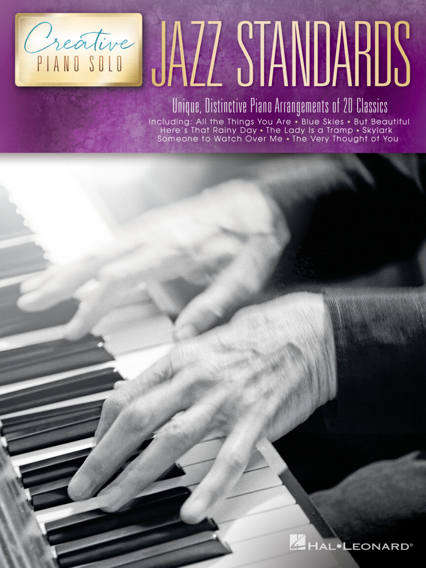 Product Cover for Jazz Standards – Creative Piano Solo